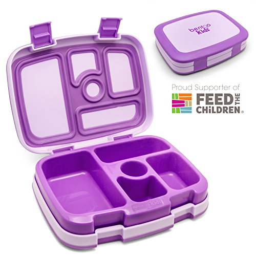 Bentgo Kids   Leakproof Children S Lunch Box  Purple
