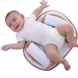 Baby Bed Mattress - Newborn Sleep Positioner Infant Body Support Crib Bumper Nursing Pillow Anti Roll Sleeping Cushion