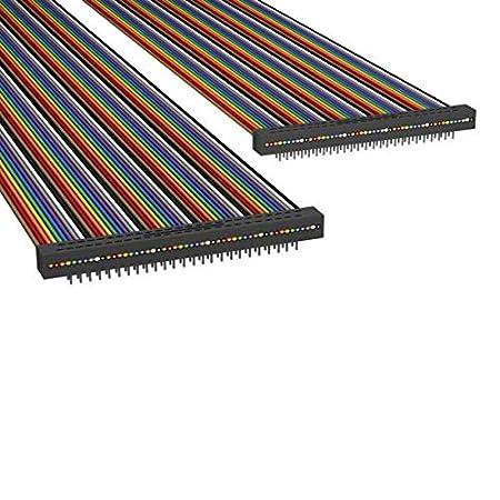 ADM50S//AE50M//ADM50S A6MMS-5018M Pack of 10 IDC CABLE