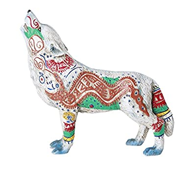 Pacific Giftware The Wolf Spirit Collection Aztec Wolf Spirit Collectible Figurine