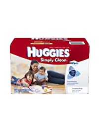 Huggies Simply Clean Fragrance Free Baby Wipes Refill, 600 Count BOBEBE Online Baby Store From New York to Miami and Los Angeles
