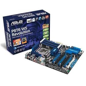 Asus P6T6 WS Revolution Core i7 / Intel X58/ DDR3/ CrossFireX & 3-Way SLI/ A&2GL/ ATX Motherboard