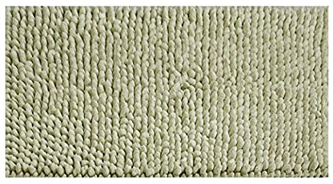 Better Trends/ Pan Overseas Chenille Rocks 215 Gsf 100-Percent Cotton Hand-Woven Luxury Bath Rug, 24