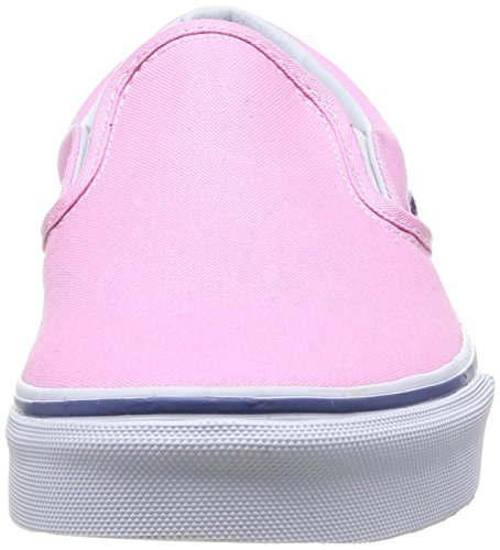 Mode Baskets true U Mixte Pink Rose Vans White Slip on Adulte prism Classic wxP644IFqX