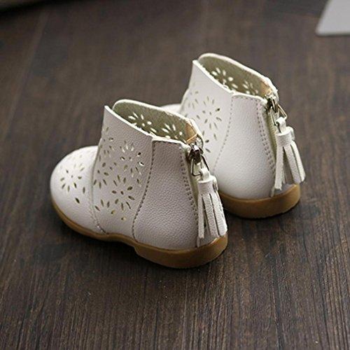 Clode® Breathable Kleinkind Baby Aufladungs Mädchen Sommer Schuhe Kinder Kind Prinzessin Schuhe Weiß