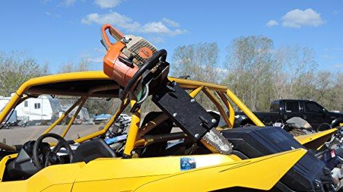 Universal UTV Roll Bar Chainsaw Mount RCM-3012 by Hornet Outdoors (Image #2)
