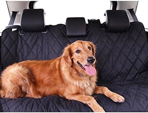 Zumeca Cubierta Asiento Perro, Cubierta Impermeable de Mascotas para el Asiento del Coche Anti-Deslizamiento 2