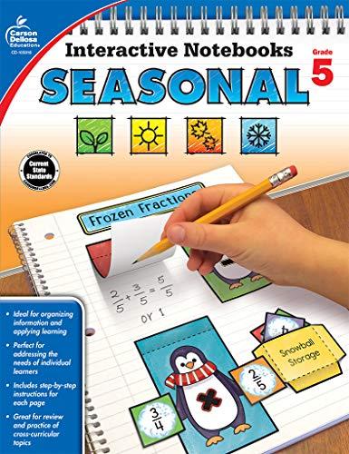 Interactive Notebooks Seasonal, Grade 5