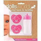Dolls World Set Biberon e 2 Ciucci