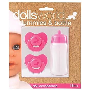 Amazon.es: Dolls World 8511 - Chupetes y biberón: Juguetes y ...