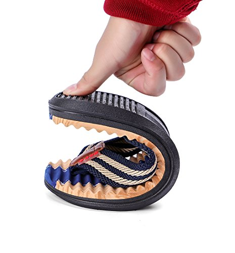Flip Hombres Zapatos Masaje LemonGirl de Zapatillas Playa Deepblue Flop Verano Sandalias aTwFP