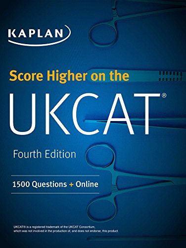 Score Higher on the UKCAT: 1500 Questions + Online (Kaplan Test Prep)