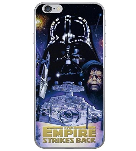 iPhone 5/5s Star Wars Silicone Phone Case/Gel Cover for Apple iPhone 5s 5 SE/Screen Protector & Cloth/iCHOOSE / Empire Poster