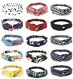 Best Yoga Clothes - FIBO STEEL 15 Pcs Headbands for Women Girls Review