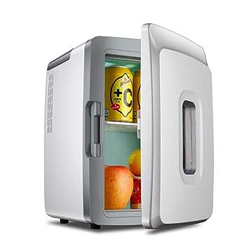 Frigoríficos mini Mini refrigerador del Coche 12L, hogar casero del Coche de Doble Uso pequeño Dormitorio Calentador pequeño refrigerador Refrigeración ...