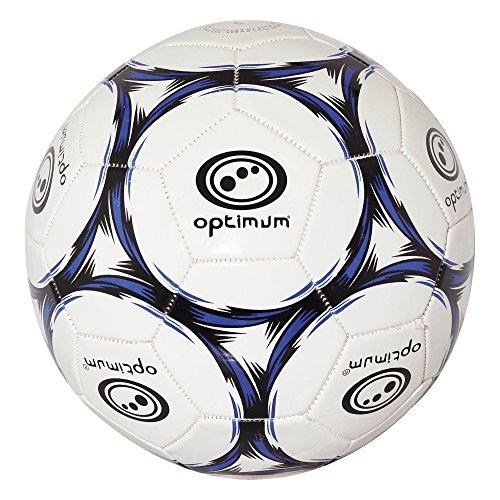 Optimum Classico Football, Black / Blue - Size 5