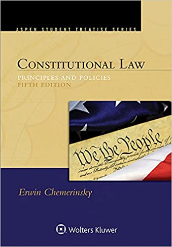 Amazon com: Constitutional Law: Principles and Policies