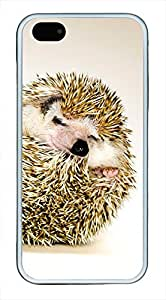 iphone 5s case,iphone 5 case,custom iphone 5 5s case,TPU Material,Drop Protection,Shock Absorbent,Customize your own cell phone case pattern,white case,The little hedgehog