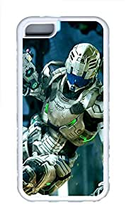 iPhone 5C Cases & Covers - 3D Robot Custom TPU Soft Case Cover Protector for iPhone 5C¨CWhite