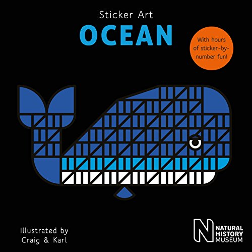 Sticker Art Ocean (The Natural History Of Whales And Dolphins)