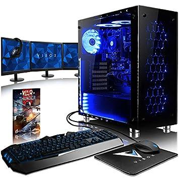 VIBOX Nebula GL580T-94 Gaming PC Ordenador de sobremesa con ...