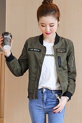 6d672959f Amazon.com: The new autumn female coat thin female models fashion ...