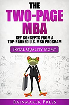 total quality management for an mba Total quality management literature review examines studies on the use of tqm in business and corporations today paper masters custom writes tqm lit reviews and directs them towards any aspect of business processes that you wish to apply the concept to.