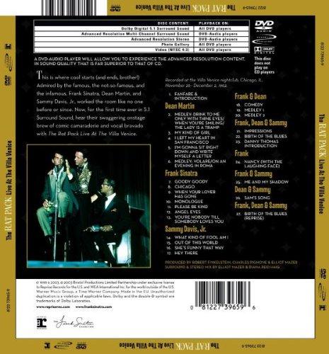 Live & Swinging: Rat Pack Live at the Villa Vanice by Warner Strat. Mkt.