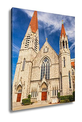 Ashley Canvas Immaculate Conception Catholic Church In Jacksonville Florida, Kitchen Bedroom Living Room Art, Color 30x24, AG5665348 by Ashley Canvas
