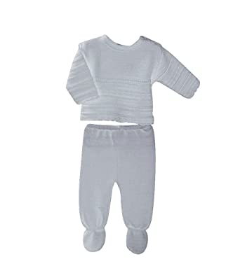 c87468d92 New in Spanish Baby Special Occassion 2 Piece Knitwear: Amazon.co.uk:  Clothing