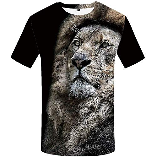 64beca36a8a8d8 Funny lion shirt designs the best Amazon price in SaveMoney.es