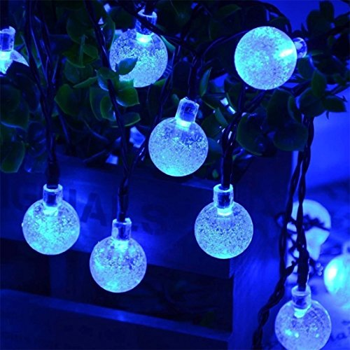 Solalight 30LED 6M Solar Balls String Light Outdoor Waterproof LED lights Decorative for Christmas / Garden / Home - Festive Bubble Lighting - The Diamonds Sunglasses And Marina