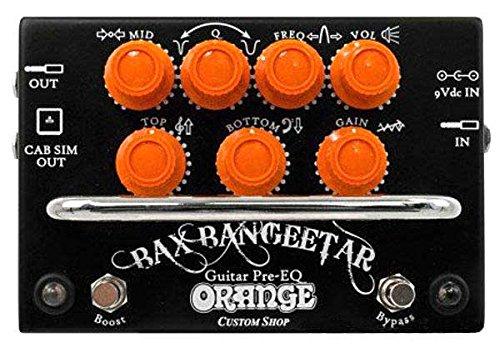 Orange / Bax Bangeetar Guitar Pre-EQ BLACK B0144M0KHC