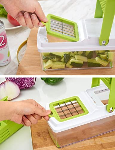 Cortador de verduras manual chopper dicer cortador multi fruit ...