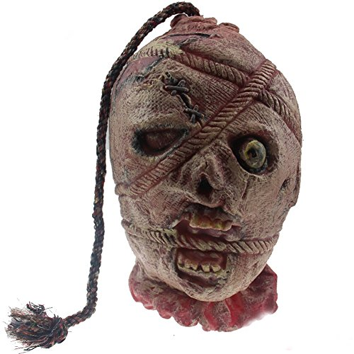 LETSQK Scary Realistic Cut Off Corpse Head Prop