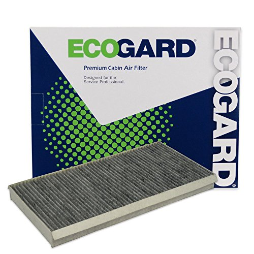 ECOGARD XC25838C Cabin Air Filter with Activated Carbon Odor Eliminator - Premium Replacement Fits Saab 9-3, 9-4X, 9-3X