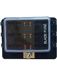 chocolate box fuse box holder amazon.com: fuse boxes - fuses & accessories: automotive 1890s fuse box