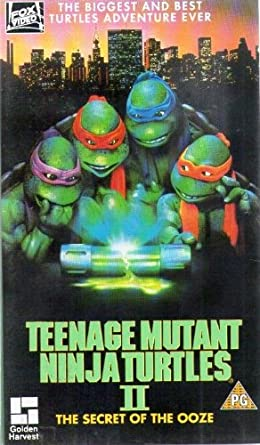 Teenage Mutant Ninja Turt.2 [Reino Unido] [VHS]: Amazon.es ...