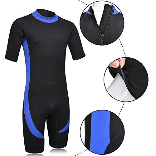 DEHAI Men Women s Wetsuits Shorty Sleeves 3mm Neoprene Skin Youth Adult s  Reactor Full Suit Diving Swimming 35ab34adb