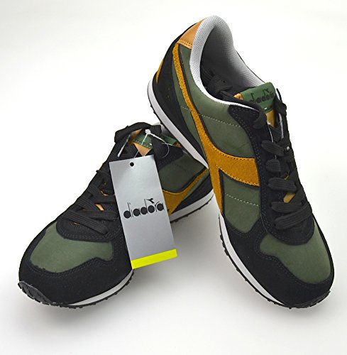 Diadora Zapatillas Deportivas Para Hombre Art. K_Run L 159863 01 C5532 40,5 EU - 7,5 USA - 7 UK Verde Marrone - Green Brown