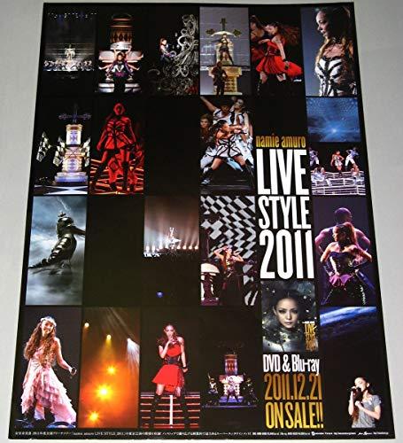 安室奈美恵 ポスター LIVE STYLE 2011