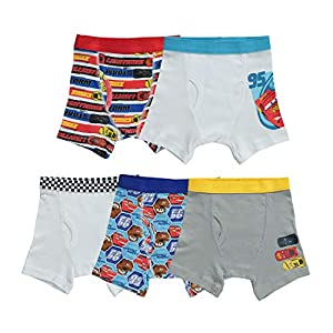 Disney 5 Pack Boxer Brief Toddler Boy