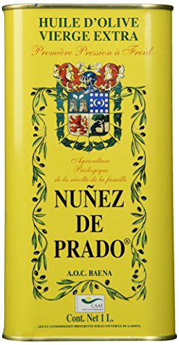 (Nunez De Prado Extra Virgin Olive Oil Tin, 33.8 Ounce )