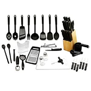 Hampton Forge 52 Piece Kitchen Starter Set