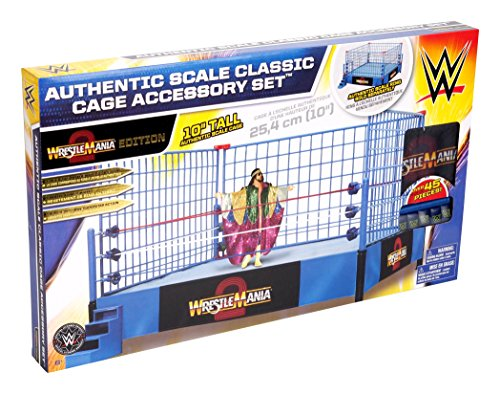 WWE Steel Cage Match Accessory (Classic Wrestle Mania Version) by WWE