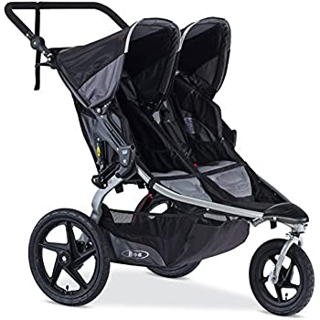 BOB 2016 Revolution FLEX Duallie Jogging Stroller, Black