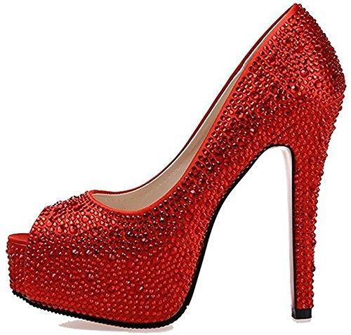 infly-end-comfortable-women-peep-toe-platform-beads-high-heels-wedding-pumps-crystal-dress-heels-red