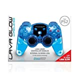 dreamgear DGPN-524 Lava Glow Mini RF Wireless Controller-Water Inside Without Rumble For PS2