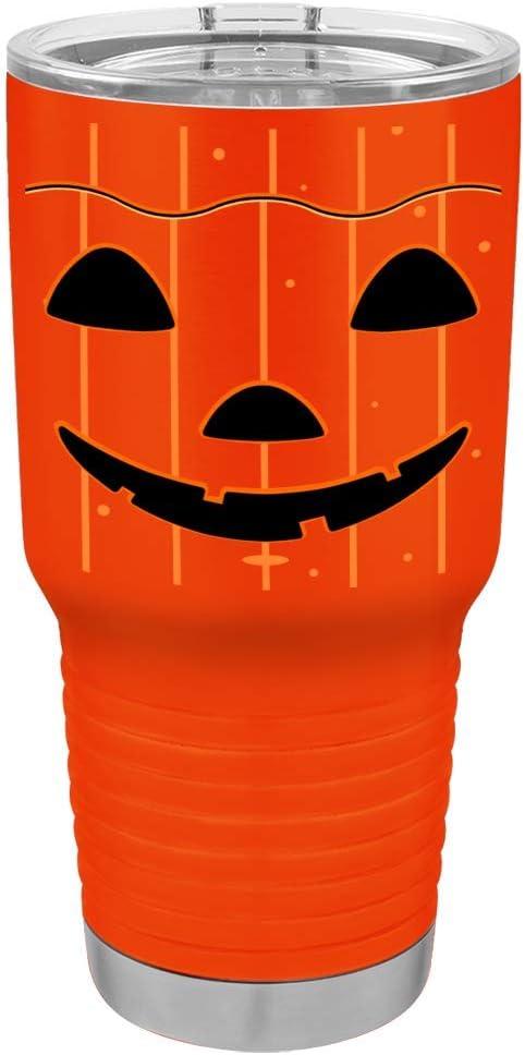 Spook Halloween 30oz stainless steel custom tumbler