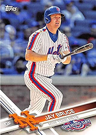 online store 79f2d 5bcd8 Amazon.com: 2017 Topps Opening Day #70 Jay Bruce New York ...